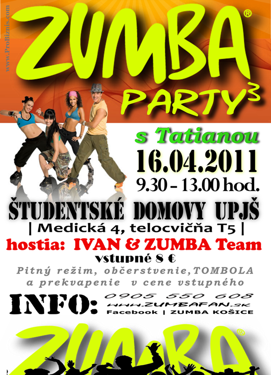 3.Zumbafan party s Tatianou